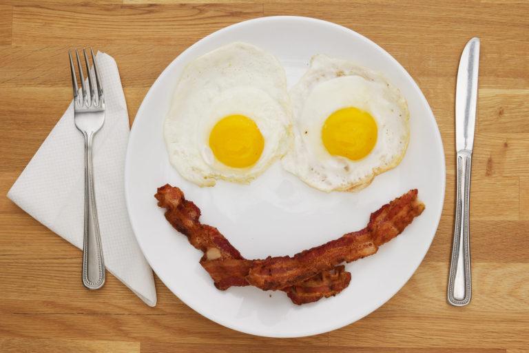 Яйце с бекон за училище